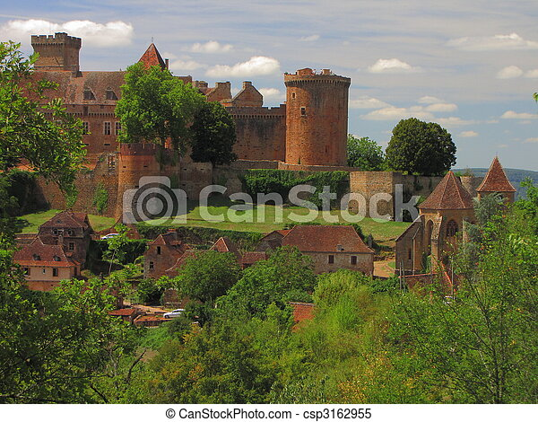 Castelnau Castle - csp3162955