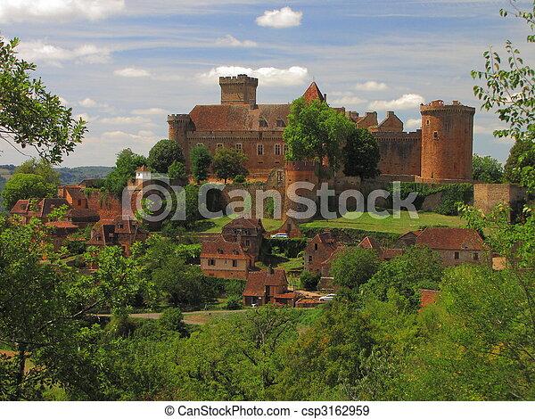 Castelnau Castle - csp3162959