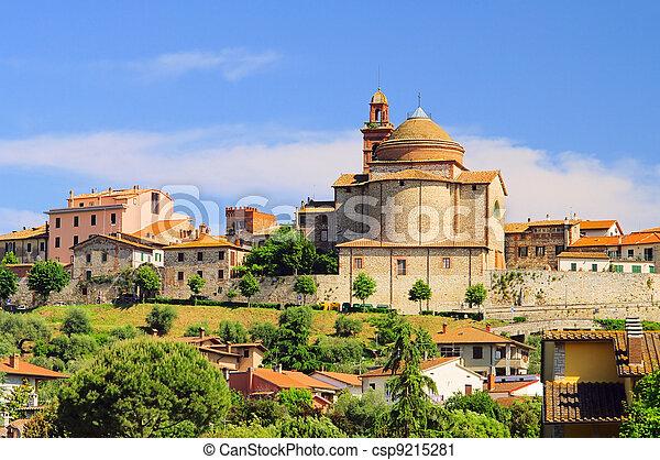 Castiglione church 01 - csp9215281