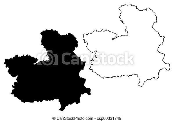 Map Of Spain La Mancha.Castilla La Mancha Map