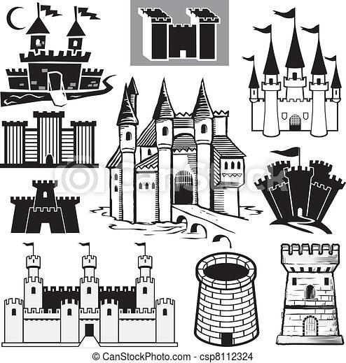 La colección del castillo - csp8112324