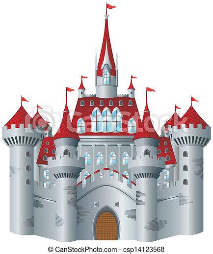 Castillo de cuento de hadas - csp14123568