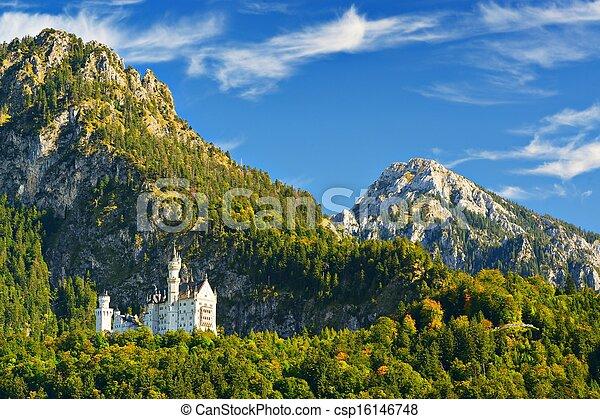 Castillo Neuschwanstein - csp16146748