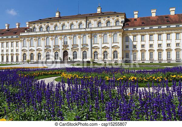 """castillo, """"schleissheim"""", alemania, munich - csp15255807"""
