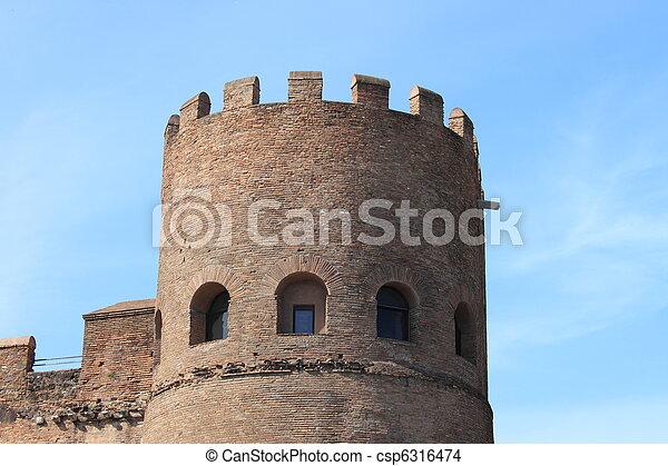 Castle bastion - csp6316474