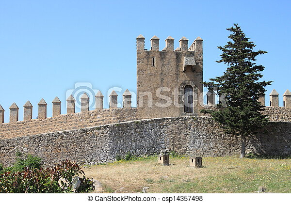 Castle battlements - csp14357498