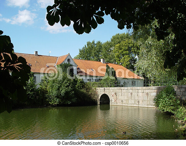 castle bridge - csp0010656