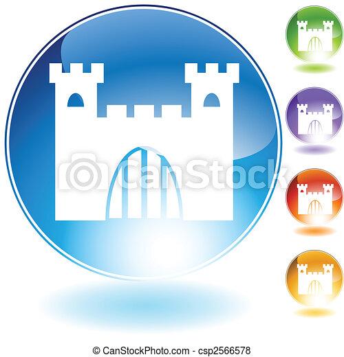 castle crystal - csp2566578