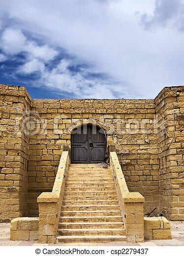 Castle Doorway - csp2279437