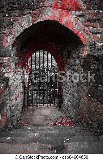 Castle Doorway - csp64664850
