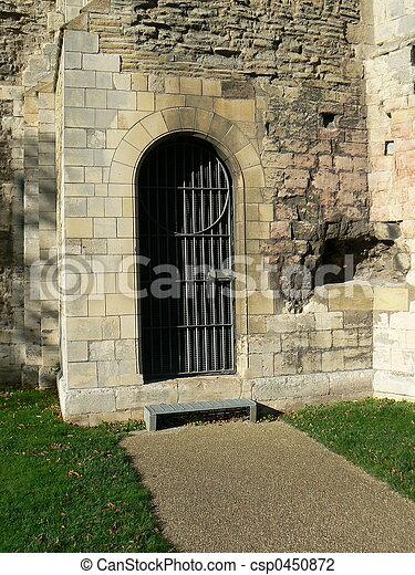 castle doorway - csp0450872