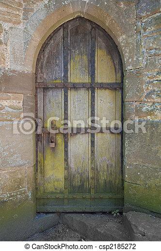 Castle Doorway - csp2185272