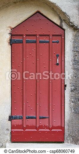 Castle Doorway - csp68060749