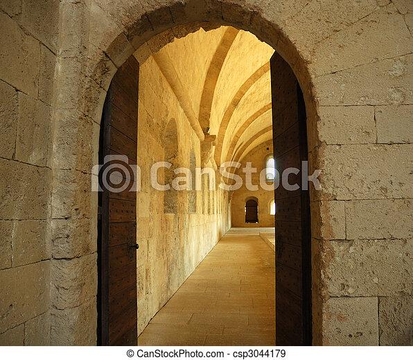 Castle Doorway - csp3044179