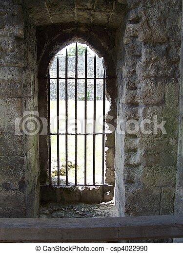 Castle doorway - csp4022990
