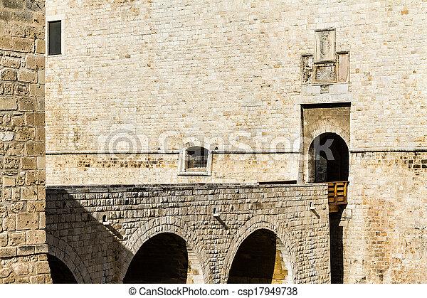 Castle doorway - csp17949738