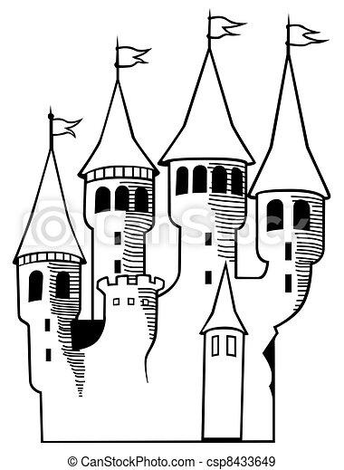 Castle - csp8433649