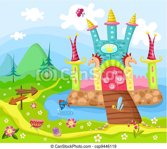 castle - csp9446119