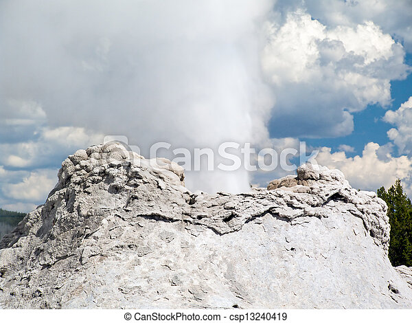 Castle Geyser Closeup - csp13240419