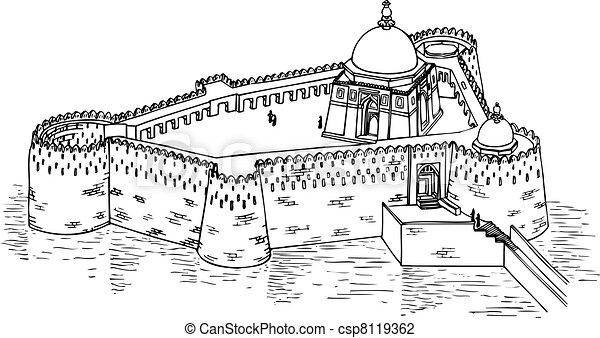 Castle - csp8119362