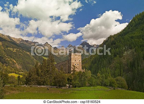 Castle in Austria - csp18160524