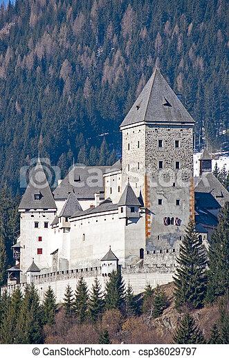 Castle in Austria - csp36029797