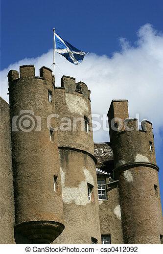Castle in Scotland 2 - csp0412092