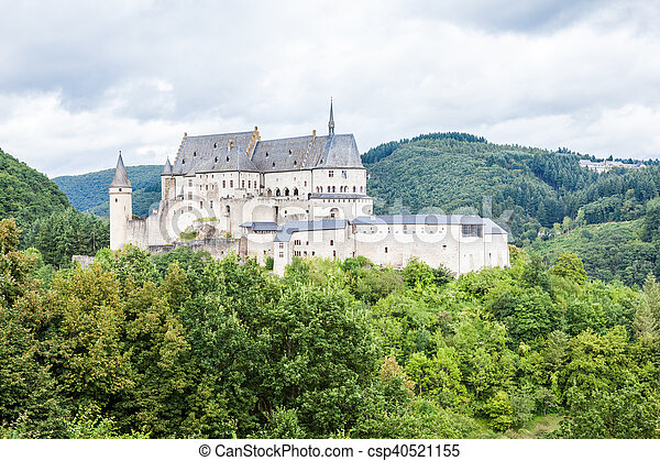 castle in the mountains - csp40521155