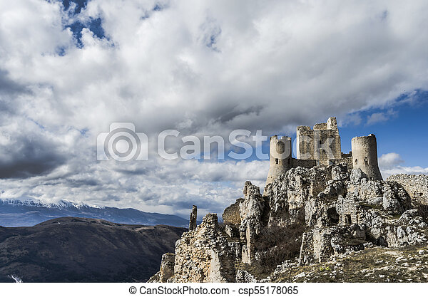 Castle in the sky - csp55178065