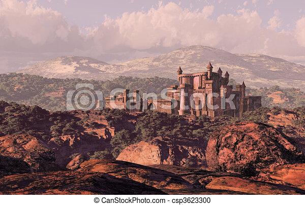 Castle Landscape - csp3623300