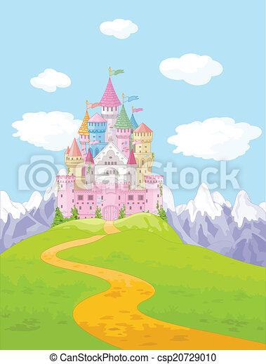 Castle Landscape - csp20729010