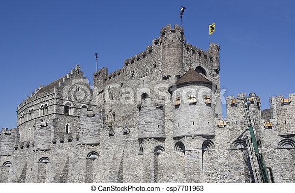 Castle of Ghent - csp7701963