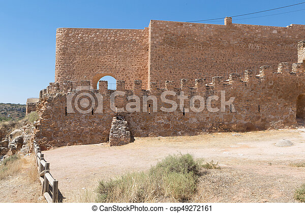 Castle of Penarroya - csp49272161