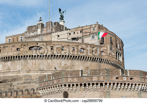 Castle of the Holy Angel - csp28899799