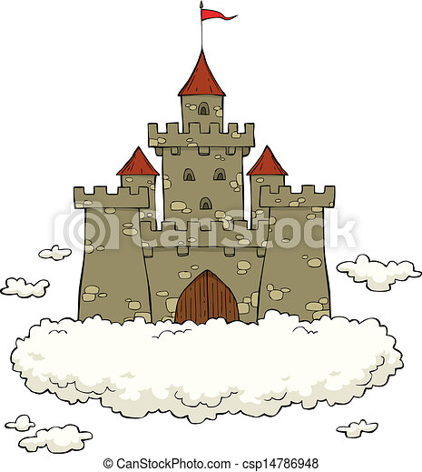 castle on a cloud on a white background vector princess castle clip art free princess castle clipart black and white