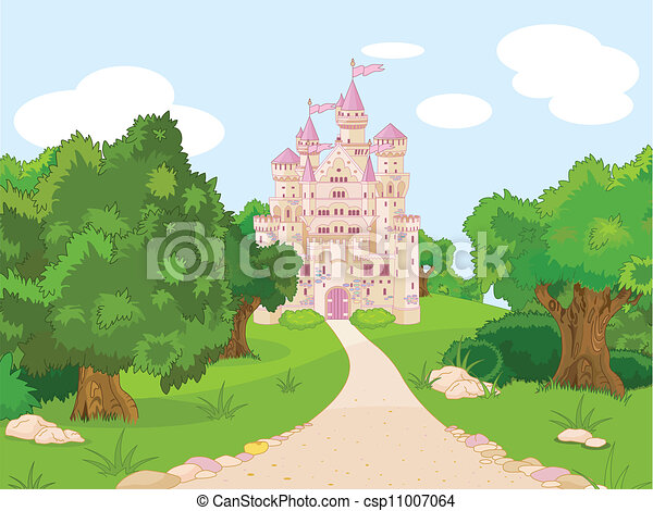 Castle on hill - csp11007064