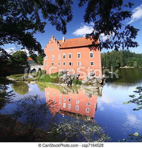 castle on the island - csp7164528