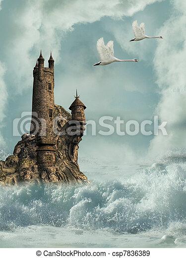 castle - csp7836389