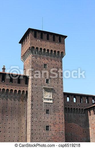 Castle tower - csp6519218