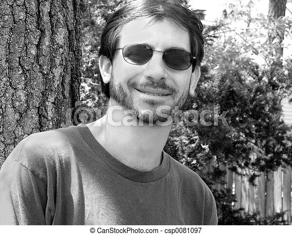 Hombre informal - csp0081097
