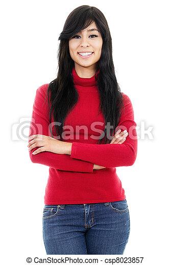 Casual woman - csp8023857