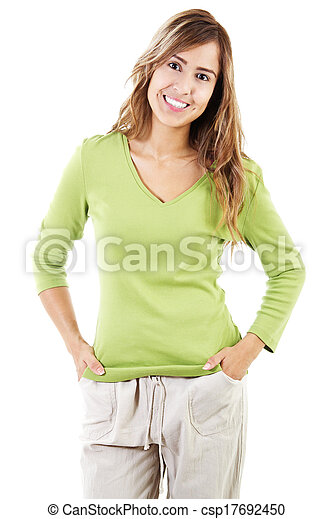 Casual Woman - csp17692450