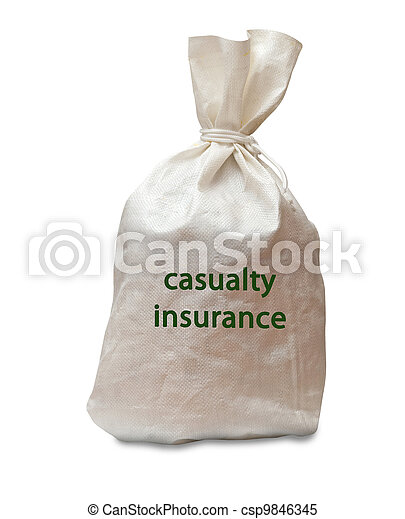 Casualty insurance - csp9846345