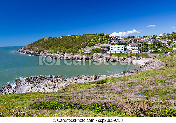 Caswell Bay Wales UK Europe - csp20659750
