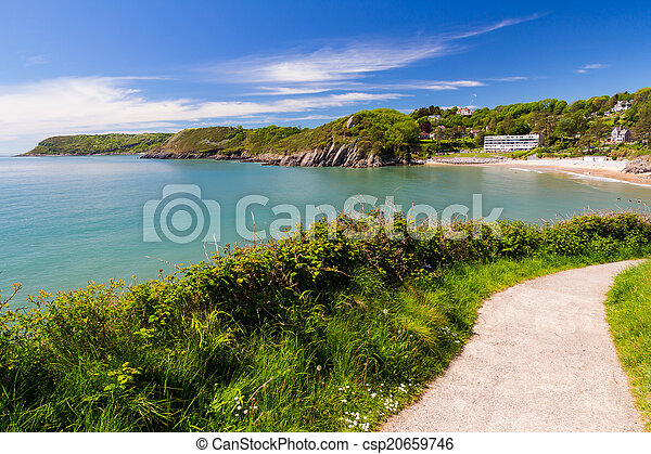 Caswell Bay Wales UK Europe - csp20659746