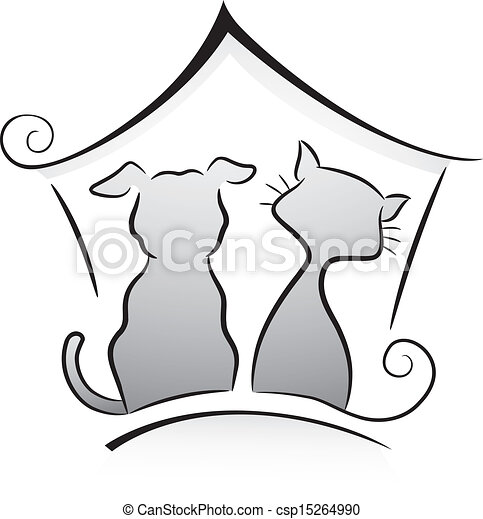 Cat and Dog Shelter  - csp15264990