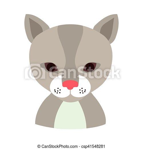 cat animal cartoon - csp41548281