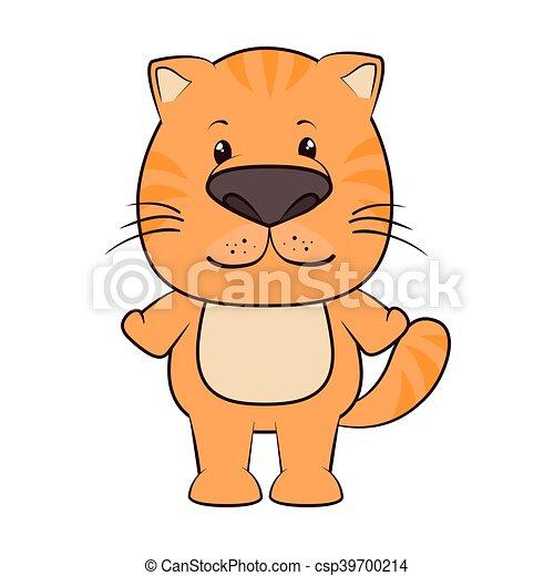 cat animal cartoon - csp39700214