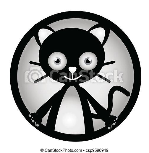 Cat Banner - csp9598949