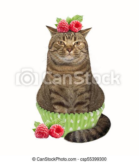 Cat cupcake 1 - csp55399300